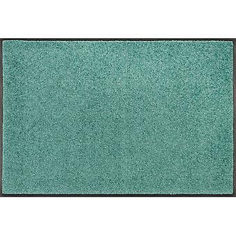 wash + dry mat Salvia Green washable dirt mat