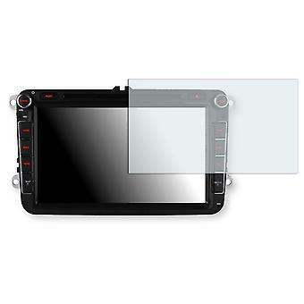 Xtrons 8 inch car radio screen protector - Golebo crystal clear protection film