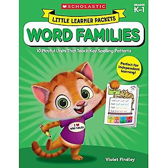 Lilla eleven paket: Word familjer: 10 lekfulla enheter som lär nyckeln stavning mönster (lilla eleven paket)