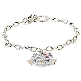 TOC Sterling Silber Strass Set Schlepplift Bettelarmband Kätzchen 7