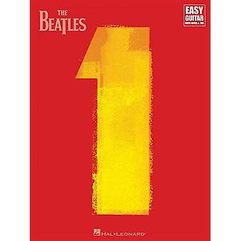 The Beatles - 1 - For Easy Guitar with Riffs & Solos (with Tab) - 9781