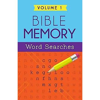 Bible Memory Word Searches Volume 1 by Barbour Publishing - 978163409