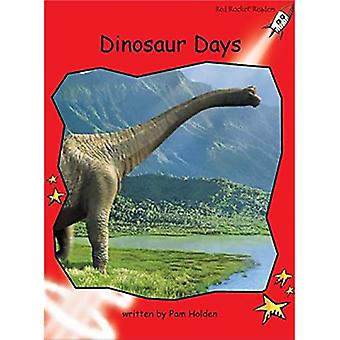 Dinosaur Days: Level 1: Early (Red Rocket Readers: Fiction Set B)