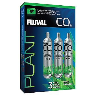 Fluval 45g CO2 Disposable Cartridge - 1 Pack