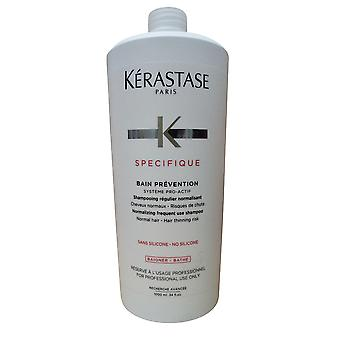 Kerastase Specifique Bain förebyggande schampo normal hår gallring risk 33,8 OZ