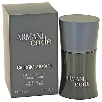 Armani Code by Giorgio Armani Eau De Toilette Spray 1 oz / 30 ml (Men)