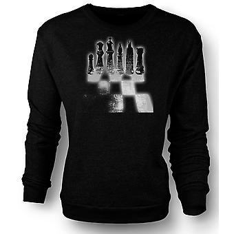 Mens Sweatshirt Batman Chess Game
