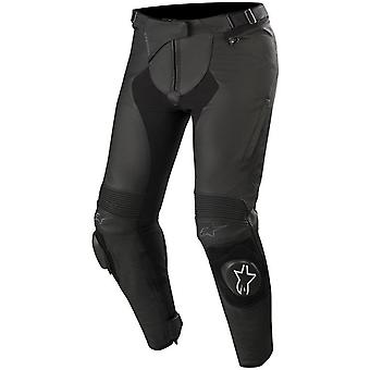 Alpinestars Black Stella Missile V2 Womens Motorcycle Leather Pants