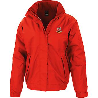 Royal Scots Greys Veteran - Licensed British Army Embroidered Waterproof Jacket With Fleece Inner