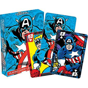 Playing Card - Marvel - Captain America Comics Licensed Gifts Toys 52278