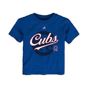 Chicago Cubs MLB Majestic Toddler Tee