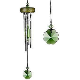 Shamrock Gem Drop Crystal Chime from Woodstock