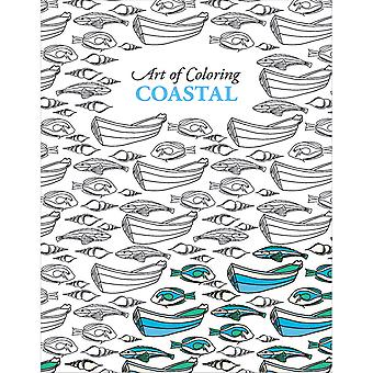 Leisure Arts-Art Of Coloring Coastal LA-54579