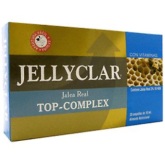 Jellyclar Complex Top 20 Royal Jelly Vials (Dietetics and nutrition , Vitality)