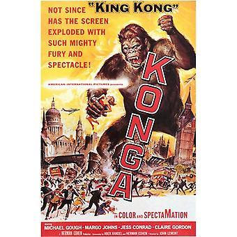 Konga filmposter (11 x 17)