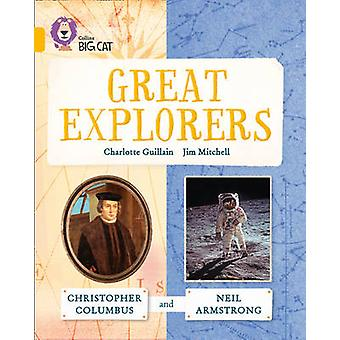 Great Explorers Christopher Columbus and Neil Armstrong by Charlotte Guillain & Jim Mitchell &  Collins Big Cat