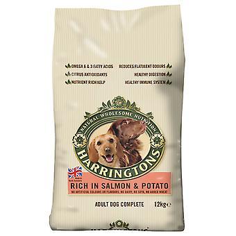 Harringtons komplet hund laks & kartoffel 12kg