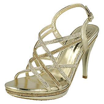 Dames Anne Michelle hoge hakken avond sandalen