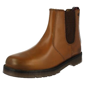 Herre HX London læder forhandler støvler 01700
