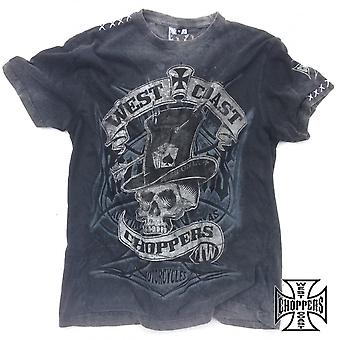 West Coast Choppers T-Shirt Cash Only tea