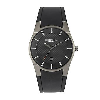 Kenneth Cole New York Herren Uhr Armbanduhr Silikon KC15103003