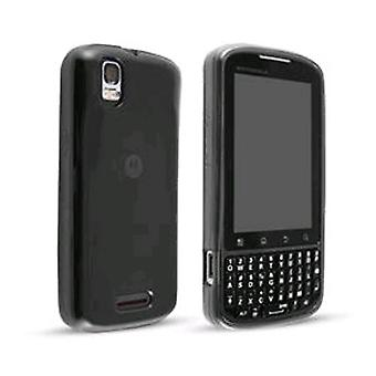 Technocel høj glans Gel Cover til Motorola Droid Pro - sort