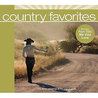 Forskellige kunstner - land favoritter [CD] USA importerer