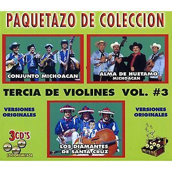 Tercia De Violines - Vol. 3-Tercia De Violines [CD] USA import