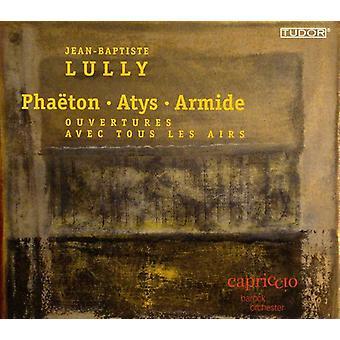 J.B. Lully - Jean-Baptiste Lully: Pha Ton; Atys; Armide [CD] USA importerer