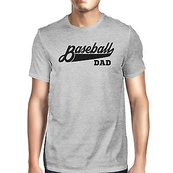 Baseball Dad Men's Short Sleeve Tee Unique Gifts For Baseball Fans