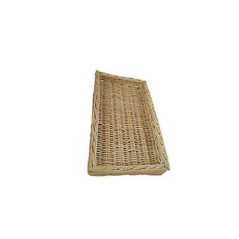 Wicker Food Display Basket - Small