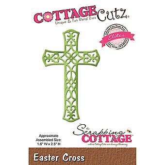 CottageCutz Elites Die -Easter Cross, 1.6