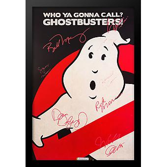 Ghostbusters - Signed Movie Poster