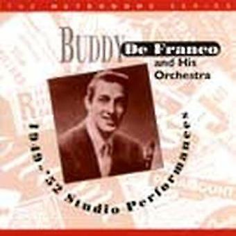 Buddy Defranco & hans orkester - 1949-52 Studio Performances [CD] USA importerer