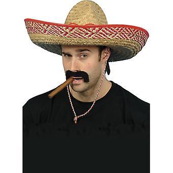 Sombrero Mexican Mexico costume Hat straw hat 50 cm