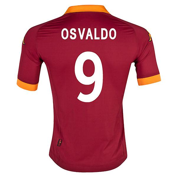 2012-13 Roma Home Shirt (Osvaldo 9)