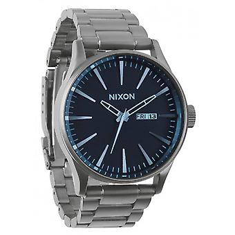 Watch Nixon die Sentry-SS - Gunmetal/Blue Crystal