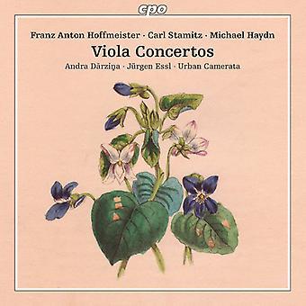 Stamitz / Hoffmeister / Haydn / Darzina / Essl - Stamitz Hoffmeister & Haydn: Viola Concertos [CD] USA import