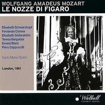 Mozart / Schwarzkopf / Phiharmonia orkester - Le Nozze Di Figaro [CD] USA import