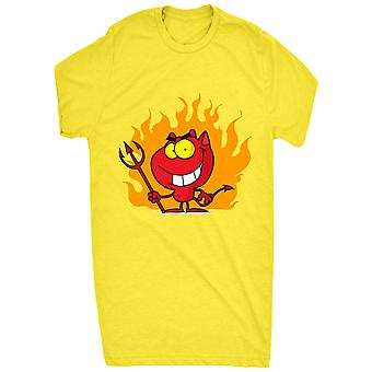 Renowned Funny Cute Cheeky Devil Man Cartoon