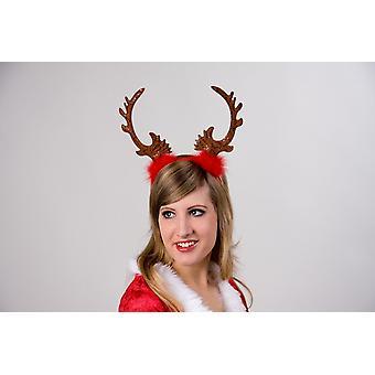 Headband tiare reindeer Christmas Reindeer headband