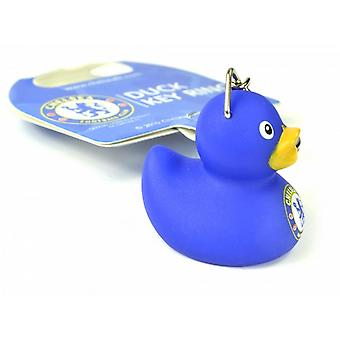 Chelsea FC Official Football Mini Duck Keyring