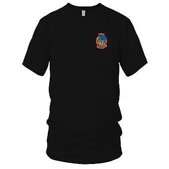 USMC MAG-12 Marine Aircraft gruppo supporto Assualt - guerra del Vietnam ricamato Patch - Mens T-Shirt