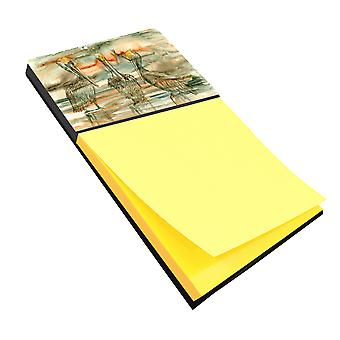 Carolines Treasures  8980SN Pelicans on their perch Abstract Sticky Note Holder