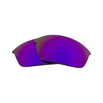 Best SEEK Replacement Lenses for Oakley FLAK JACKET Purple Silver Mirror