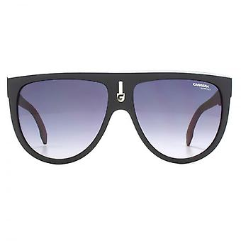 Carrera Flagtop Sunglasses In Black Red