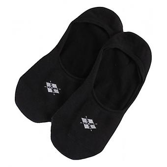Burlington Everyday Invisible 2 Pack Socks - Black
