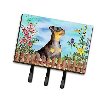 Carolines Treasures  CK1286TH68 Miniature Pinscher #2 Spring Leash or Key Holder