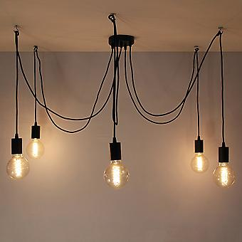 Spider Pendant Light - Black