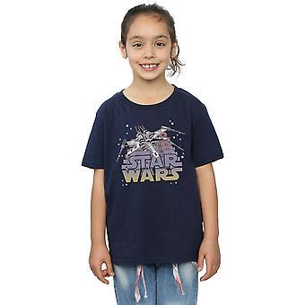 Star Wars Girls X-Wing Starfighter T-Shirt